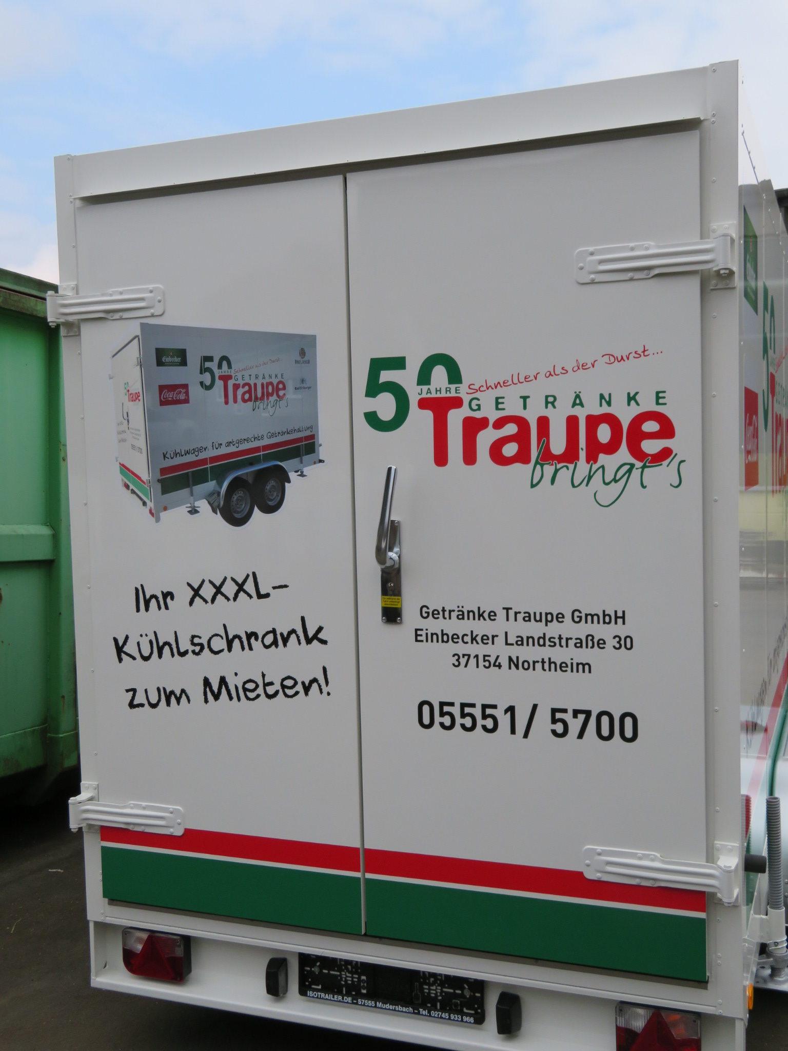 Getränke Traupe – Schneller als der Durst
